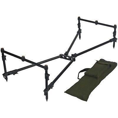 Carp Pro 3 Rod Pod with Buzz Bars and Banksticks & Carry -