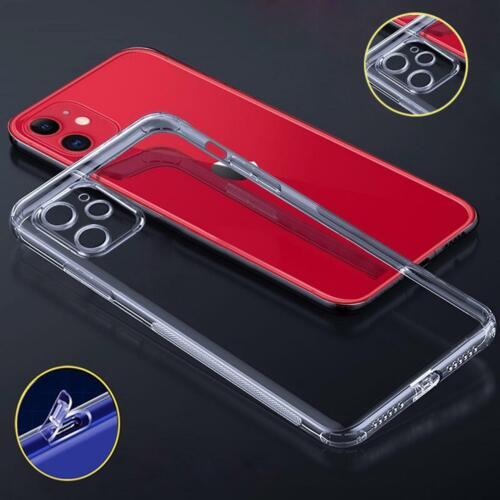 Handy Hülle iPhone 11 Pro Max TPU Schutzhülle Silikon Tasche Cover Case Klar