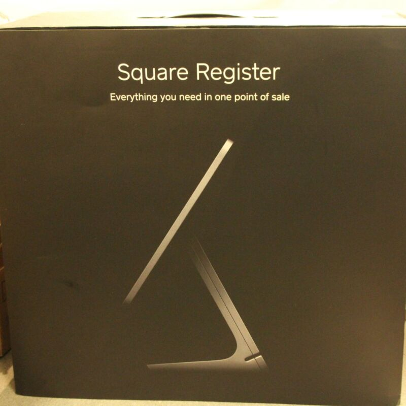 2 -Sided Square POS Register Dual Sided Point of Sale