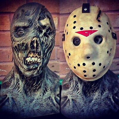 Jason Part 6 No Freddy Myers Chucky Leatherface Halloween Bust Mask