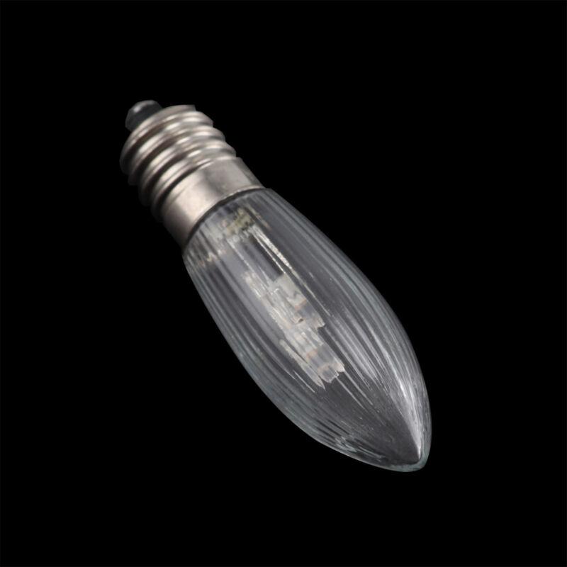 Led Ersatzlampen Für Lichterkette.10x E10 Led Ersatzlampen Gluhbirnen Topkerze Fur