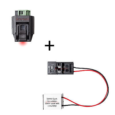 BMW Sitzbelegungsmatte Sitzmatte Sensormatte Airbagmodul E60 E61 inkl. Gurtmodul