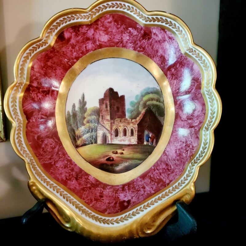 C. 1815  REGENCY  DERBY  SHELL  SHAPED  DESSERT  DISH