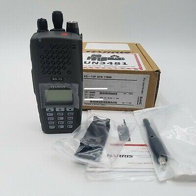Harris Xg-15p Portable Handheld Radio 700800mz P25 Trunking