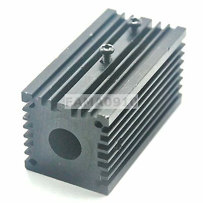 Aluminum Cooling Housing Heat Sink Holdermount For 12mm Laser Modules 32x62mm