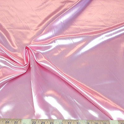 Discount Fabric Satin Pink 65 inches wide SA12 - Pink Discount