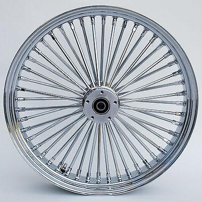 "Chrome Ultima 48 King Spoke 21"" x 3.5"" Front Dual Disc Wheel for Harley Models"