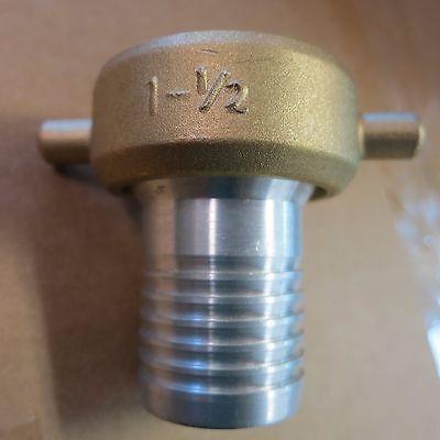 1 12 Npt X 1 14 Water Hose Fittingdredgehighbanking Gold Panning Sluicing
