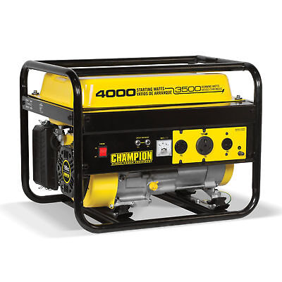 Champion 4000-watt RV Outlet Portable Generator CARB Approve