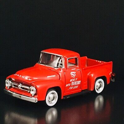 1956 MERCURY M-100 TRUCK CAR HAULER 1:64 SCALE LIMITED DIORAMA DIECAST MODEL CAR