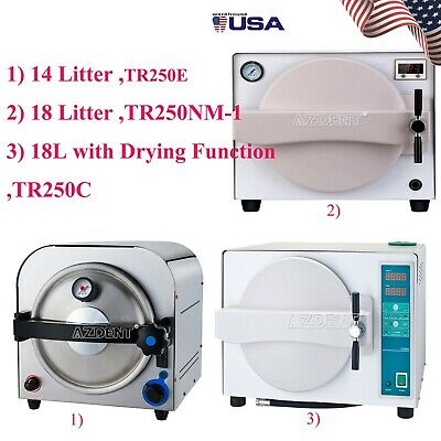 Dental Autoclave Steam Sterilizer Medical Sterilizitiondrying Function Ups Free