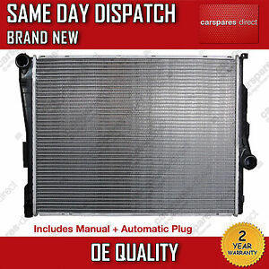 BMW 3 SERIES E46, Z4 E85 E89 AUTOMATIC/MANUAL RADIATOR 1998>2009 *BRAND NEW*