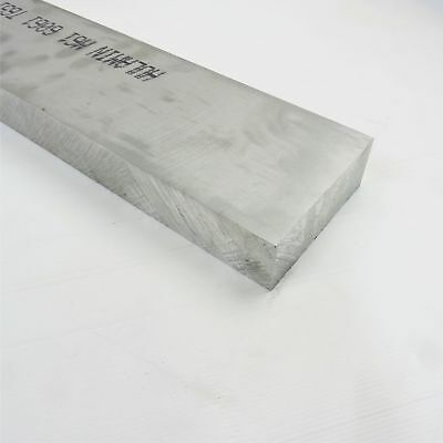 1.75 Thick 1 34 Aluminum 6061 Plate 5.5 X 33.75 Long Sku 106041