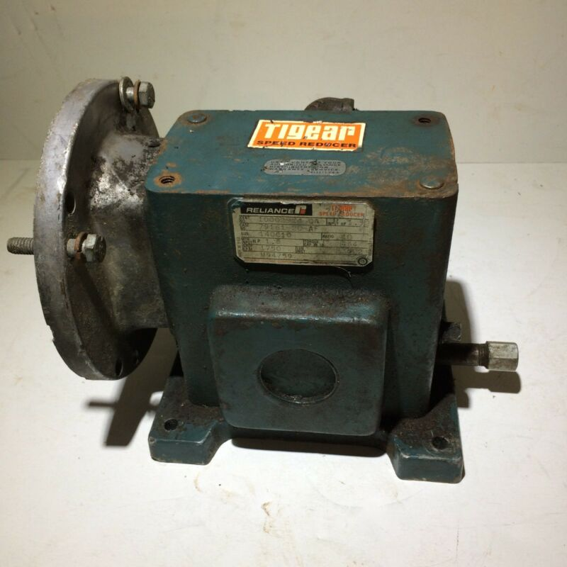 Tigear Speed Reducer Reliance Electric Company 10002954-QA Size ~ 140C10 (AS IS)