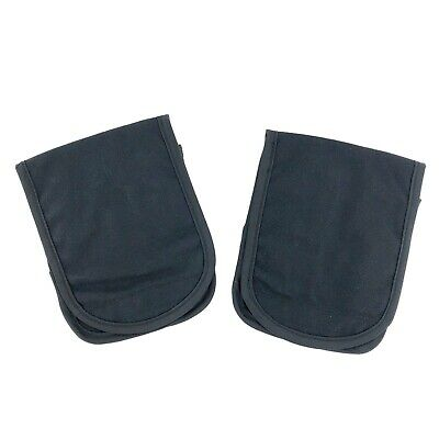 2 Pack USGI PEQ-15 Carry and Storage Pouch Black ALICE Clips Sensitive Item Case