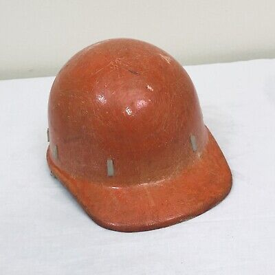 Vintage Apex Skullgard Fiberglass Protective Hard Hat Cap Mine Safety Appliances