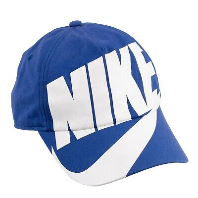 Nike Womens Kids utura Exploded H86 Hat Big Spell Out Swoosh Logo Snapback Cap