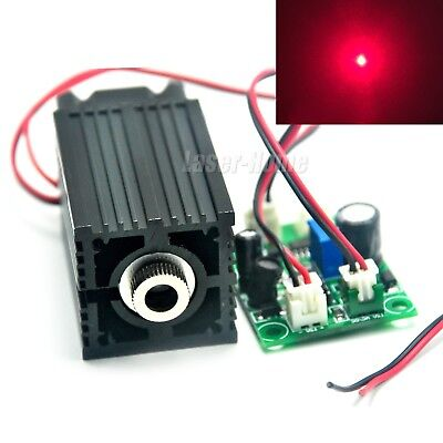 500mw 635nm 638nm Red Focusable Dot 12v Laser Diode Module W Driver Ttl Fan