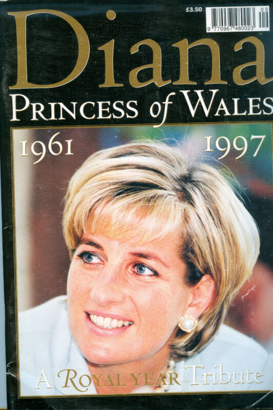 Princess Diana:PRINCESS OF WALES ROYAL YEAR TRIBUTE BOOK 1997