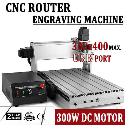 3 Axis Engraving Drilling Machine 3040 Usb T-screw Engraver Cnc Router 3d Cutter
