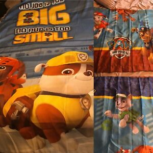 Nickelodeon Paw Patrol Curtains & Shower Curtain Lot