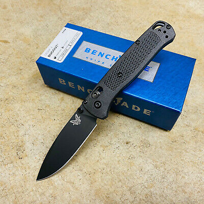 """Benchmade 535BK-2 Bugout AXIS Folding Knife 3.24"""" S30V Carbon Coated Handle BNIB"""