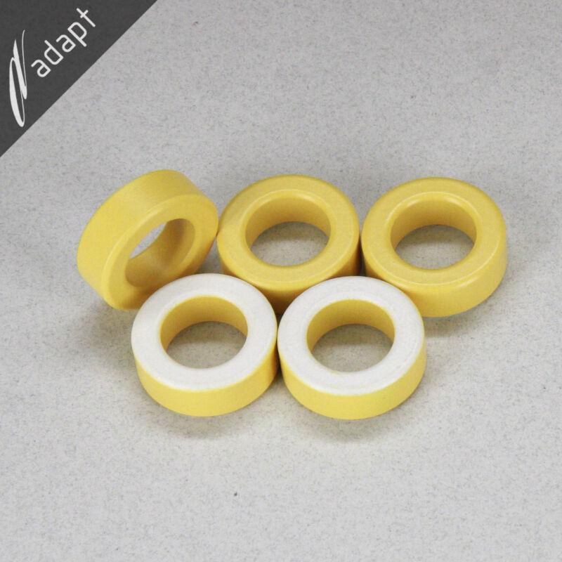 "Toroid Core MicroMetals T130-26 Iron Powder 1.300"" OD 5 ea Micrometal Toroidal"
