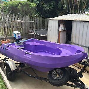 Tuff tender Polycraft 3 metre. Rockhampton Rockhampton City Preview