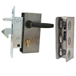 Sistema de la cerradura gancho puerta corredera caja for Cerradura puerta corredera