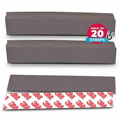 Nextclimb Flat Magnetic Tape Strips Extra Strong Magnet And Adhesive Tape