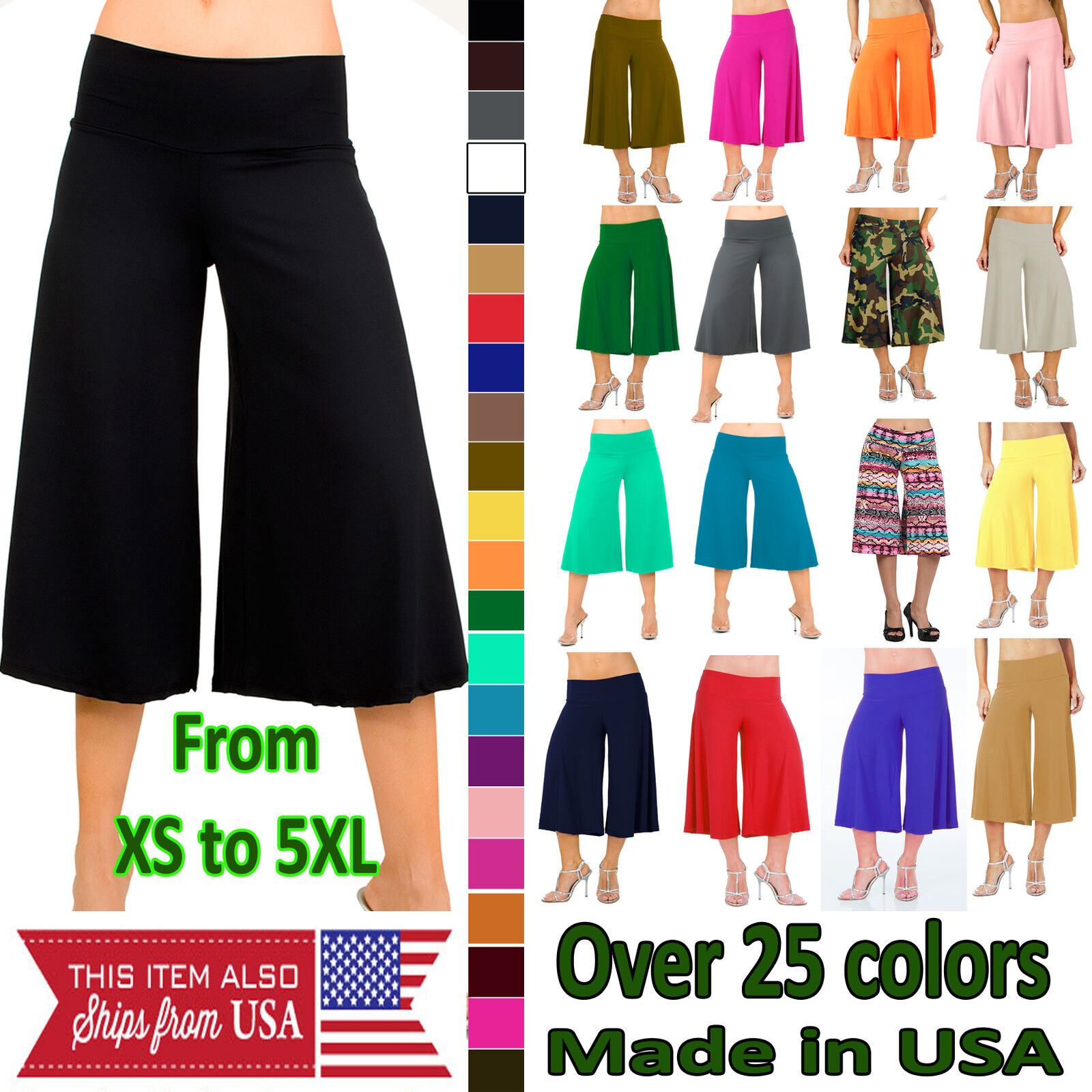 Palazzo Gaucho Pants and More