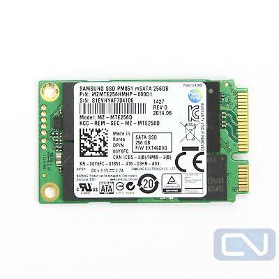 Dell 0Y6FC MZ-MTE256D Samsung PM851 Series 256GB TLC 6Gbps (AES-256) mSATA SSD