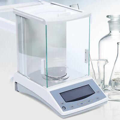 New 200 X 0.0001g Lab Digital Analytical Balance Scale Range 200g Precison 0.1mg