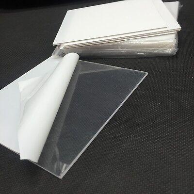 10pcs Dental Lab Splint Thermoforming Material For Vacuum Forming Hard 2.0mm Hot