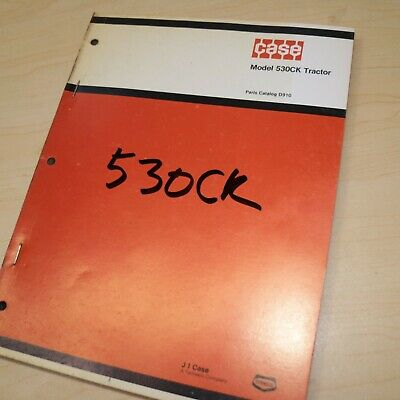 Case 530ck Construction King Tractor Spare Parts Manual Book Catalog List 530 Ck