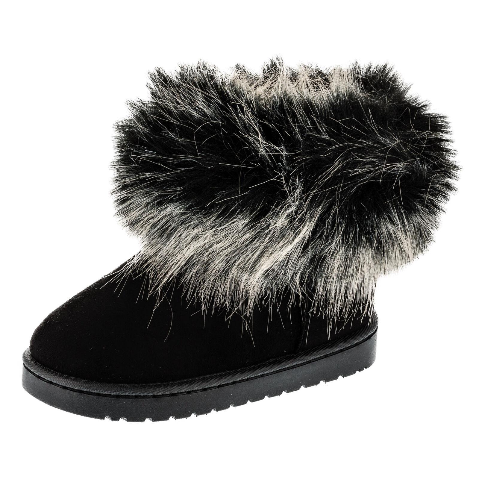 Gefütterte Mädchen Stiefel Winter Schuhe Boots Stiefelette ... 3c767ed96c