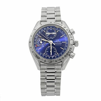 Omega Speedmaster Day-Date Blue Dial Steel Automatic Men's Watch 3523.80.00