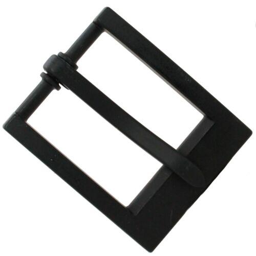"""Heel Bar Belt Buckle Black 1-1/4"""" 1567-13"""
