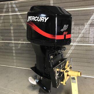 200hp Mercury outboard motor