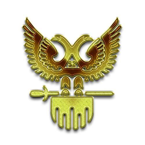 32nd Degree Scottish Rite Masonic Bumper Sticker - [5