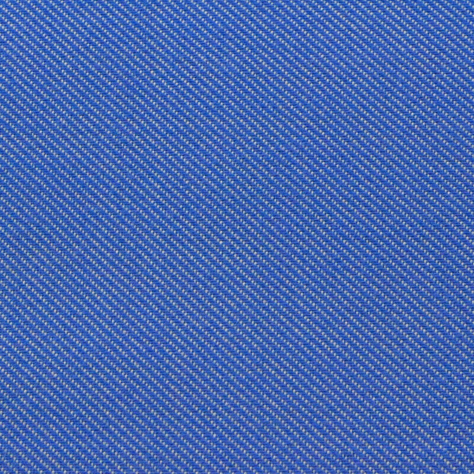 SUNBRELLA FLAGSHIP CAPRI BLUE WOVEN TWILL OUTDOOR INDOOR FAB