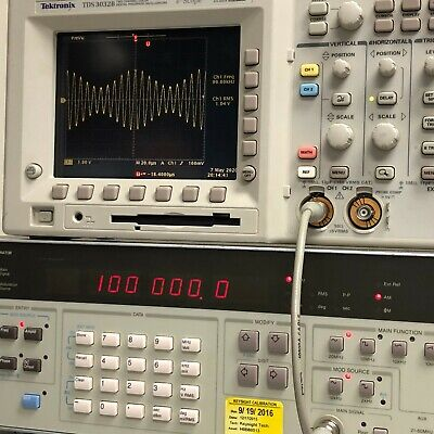 Hp 3325b Synthesizerfunction Generator 21 Mhz - Tested - Spot On