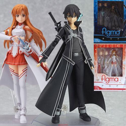 Sword Art Online Yuuki Asuna PVC Figure SAO Collection Toy Gift Figma 178 in Box