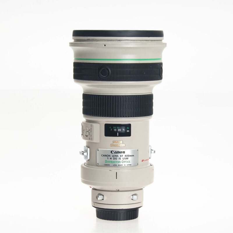 Canon EF 400mm F4 DO IS USM Autofocus Telephoto Prime EOS Lens 7034A002