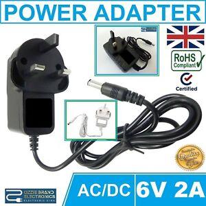 6v Universal Ride on Car charger Plug 2A To Fit Audi Mini BMW Range Jeep Quad