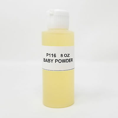 Baby Powder Intense Body Oil Scented Fragrance Finest Quality Fragrance 8 oz (Quality Scented Fragrance Oil)