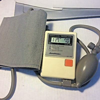 Omron Marshall 87 SunMark Digital Blood Pressure Monitor Manual Inflation