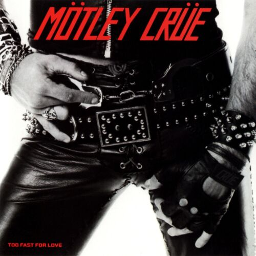 MOTLEY CRUE Too Fast For Love BANNER HUGE 4X4 Ft Fabric Poster Tapestry Flag art