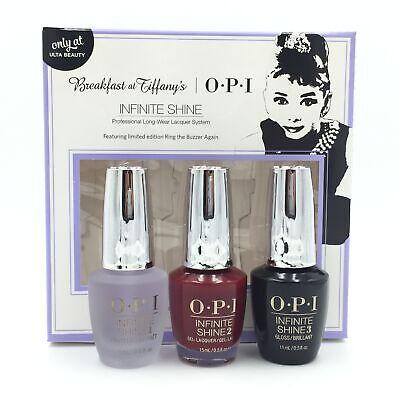 NEW OPI Breakfast at Tiffany's INFINITE SHINE 3pc Set Base, Polish, Top Coat (Free Shipping Tiffany)