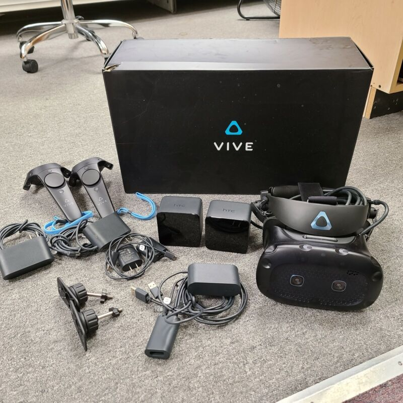 HTC Vive Cosmos Elite Virtual Reality System TESTED